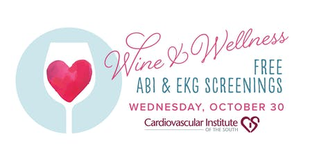 CIS BR Free Wine & Wellness ABI & EKG Screening tickets