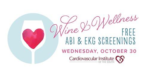 CIS BR Free Wine & Wellness ABI & EKG Screening