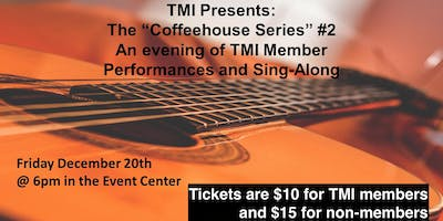 Trilogy Musicians Initiative Coffeehouse Series II