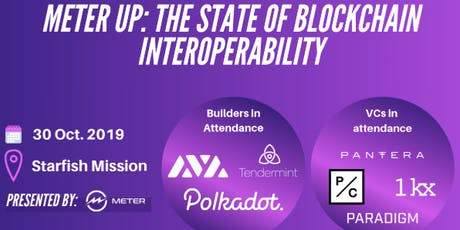 Meter Up: The State of Blockchain Interoperability tickets