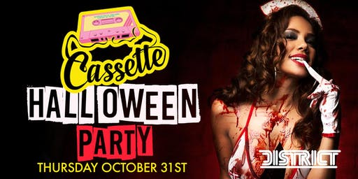 Cassette ATL Halloween Night At District Discount Tickets Available
