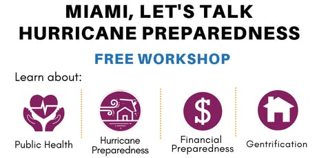 Climate and Hurricane Preparedness tickets