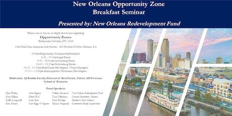 New Orleans Opportunity Zone Breakfast Seminar tickets