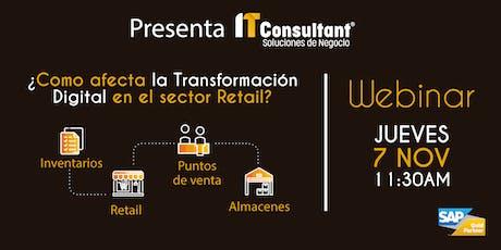 ¿Cómo afecta la Transformación Digital en el sector Retail? tickets