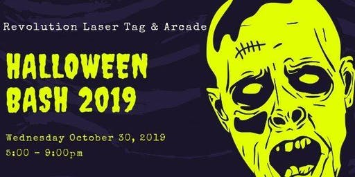 Revolution Laser Tag Halloween Bash