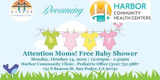 Harbor Community Clinic FREE Baby Shower!
