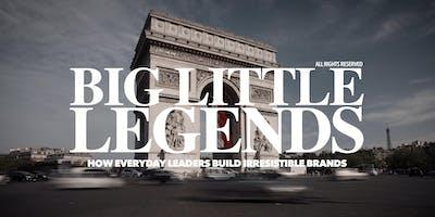 'BIG LITTLE LEGENDS' with International Speaker & Author Gair Maxwell