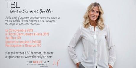 TBL - Rencontre avec Joëlle Bildstein billets
