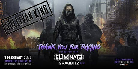 Sullivan King - Thank You For Raging Tour - Stereo Live Dallas tickets