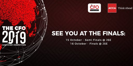 Finals: The CFO (and CFO Junior) 2019 Case Study Competition