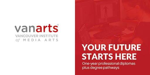 VanArts Info Session - Calgary