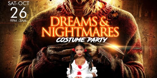 DREAMS  & NIGHTMARES: COSTUME PARTY @ TANTRUM (FREE W/RSVP)