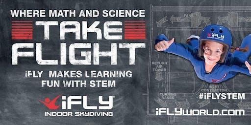 Oak Hills Jr High - STEM trip to iFLY