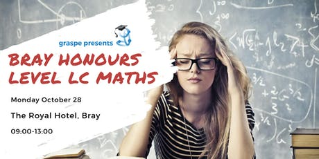 Bray Midterm Honours Level Leaving Cert Maths Revision Course tickets