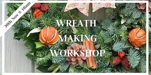 Wreath Making Workshop 30th Nov 10am