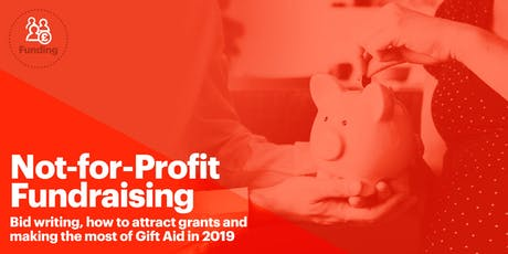 Manchester: Fundraising, Bid writing, grants and Gift Aid Seminar tickets