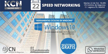 "Speed Networking: ""Herramientas ocultas en Windows"" entradas"