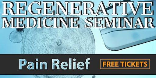 Free Regenerative Medicine & Stem Cell Dinner Seminar - Rockford, IL