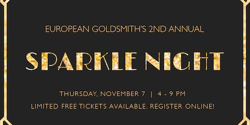European Goldsmith's  Annual Sparkle Night 2019