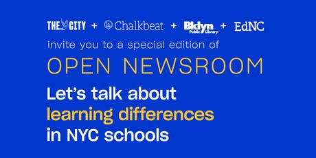 The Open Newsroom: A special education edition tickets