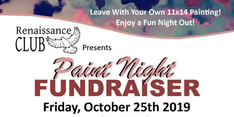 """Paint Night"" Fundraiser Benefiting Renaissance Club tickets"
