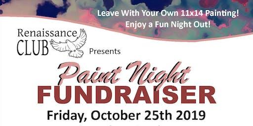 """Paint Night"" Fundraiser Benefiting Renaissance Club"