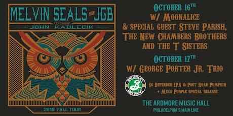 Melvin Seals & JGB ft. John Kadlecik tickets