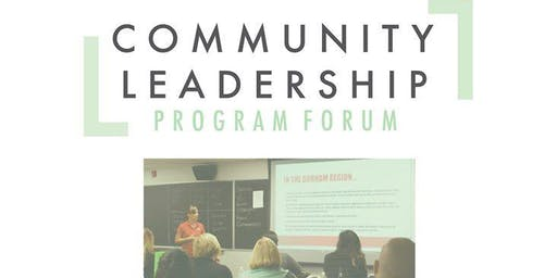 Durham Community Leadership Program Forum