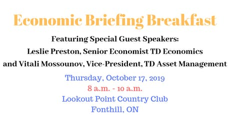 Economic Briefing Breakfast tickets