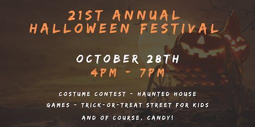 21st Annual Halloween Festival