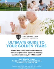 Ultimate Guide to Your Golden Years tickets