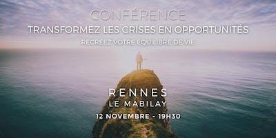 Transformez les crises en opportunités