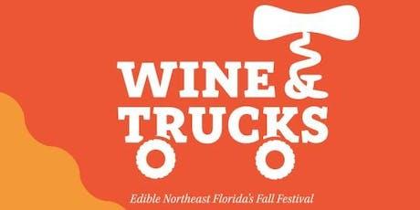 WINE & TRUCKS - Edible NE Florida's Wine and Food Festival tickets
