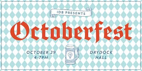 Octoberfest at IDB! tickets