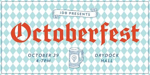 Octoberfest at IDB!