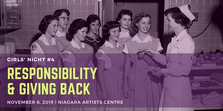 Girls' Night #4: Responsibility & Giving Back tickets