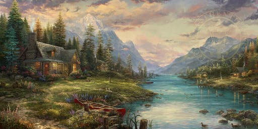 Thomas Kinkade Studios Costco Road Show