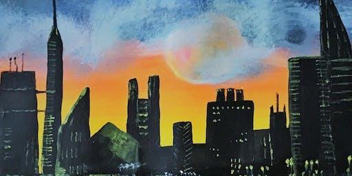 Gotham City - ColourWheel Paint Party