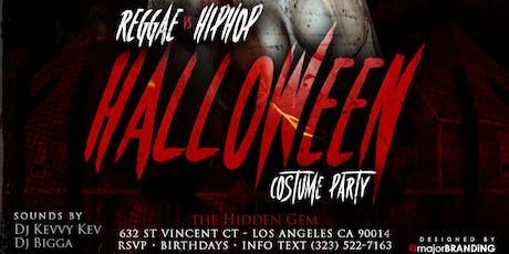 DTLA BIGGEST HALLOWEEN COSTUME PARTY IS HERE! OCTOBER 31ST tickets