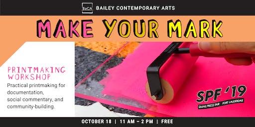 Making Your Mark Workshop