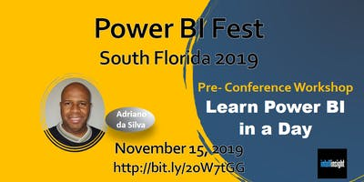 Learn Power BI in a Day (Miami, Fort Lauderdale, Palm Beach)
