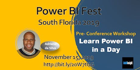 Learn Power BI in a Day (Miami, Fort Lauderdale, Palm Beach) tickets