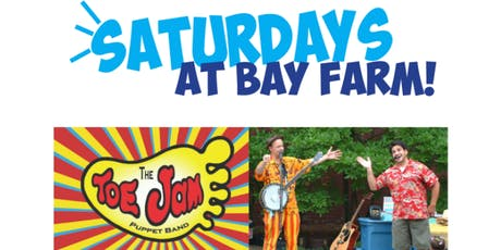 Toe Jam Puppet Band at Bay Farm tickets