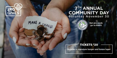 7th Annual Community Day at The Buck & Ear Bar and Grill for RAPS tickets