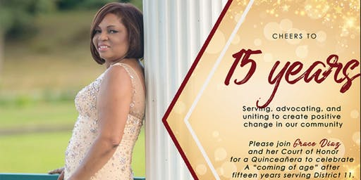 A Fundraiser- Anniversary Celebrating the Honorable Grace Diaz
