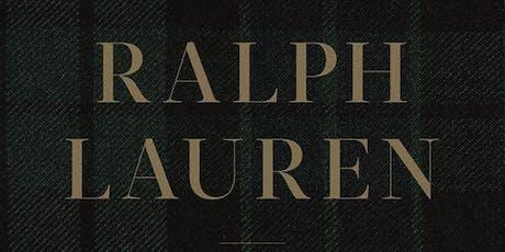 FashionSpeak Fridays: Ralph Lauren - In His Own Fashion tickets