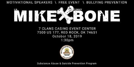 Ponca Tribe Prevention Program with Mike Bone FREE CONCERT
