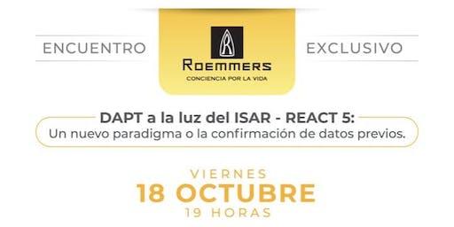 Simposio Roemmers - Dr. David Antonucci (DAPT a la luz del ISAR - REACT 5)