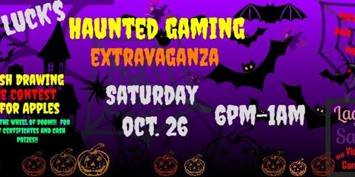 Lady Luck's Haunted Gaming Extravaganza