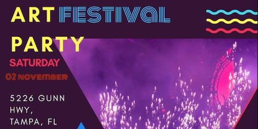 Art Music Festival Party